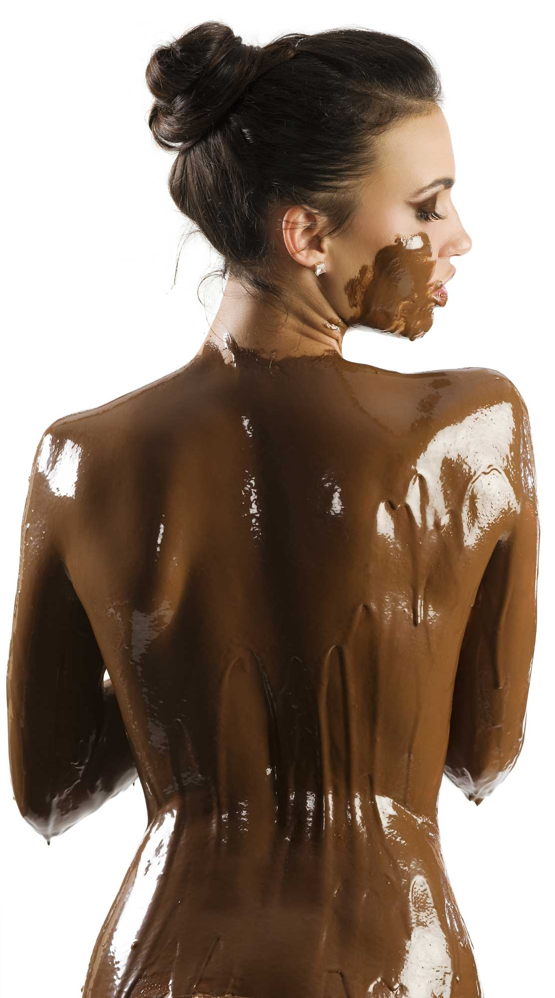 Useful Naked chocolate cover women picture think