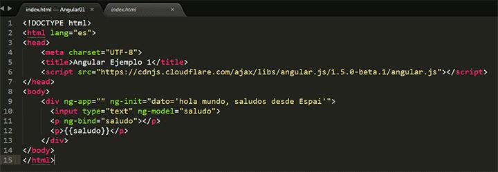 Ejemplo Angular.js