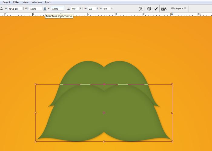 Crear tarjetas de Navidad con Photoshop - Paso 10