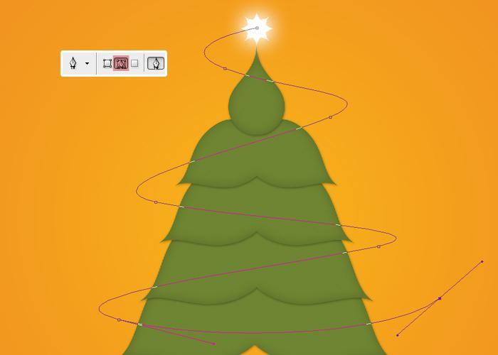 Crear tarjetas de Navidad con Photoshop - Paso 17