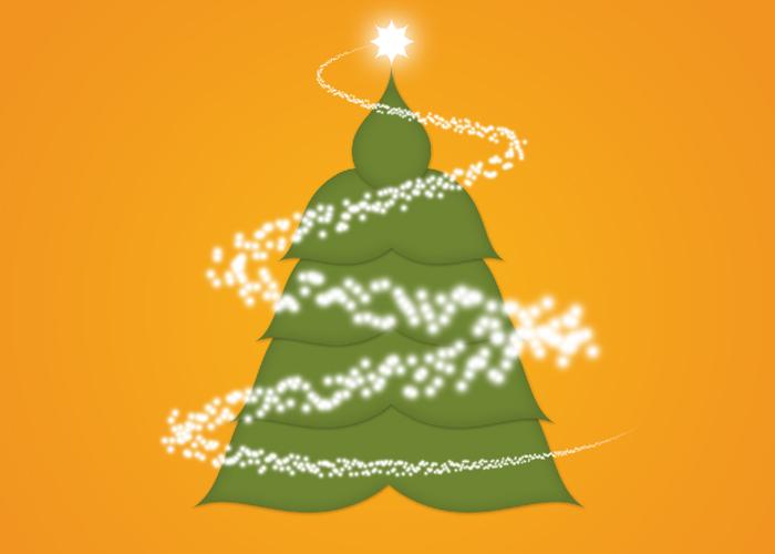 Crear tarjetas de Navidad con Photoshop - Paso 19