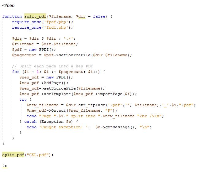 Leer un pdf y dividirlo en páginas desde PHP - Blog Escola Espai