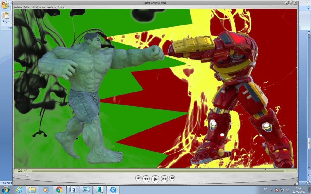Hulkbuster Vs. Hulk