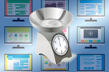 ¿Cuanto debería de pesar una página Web?