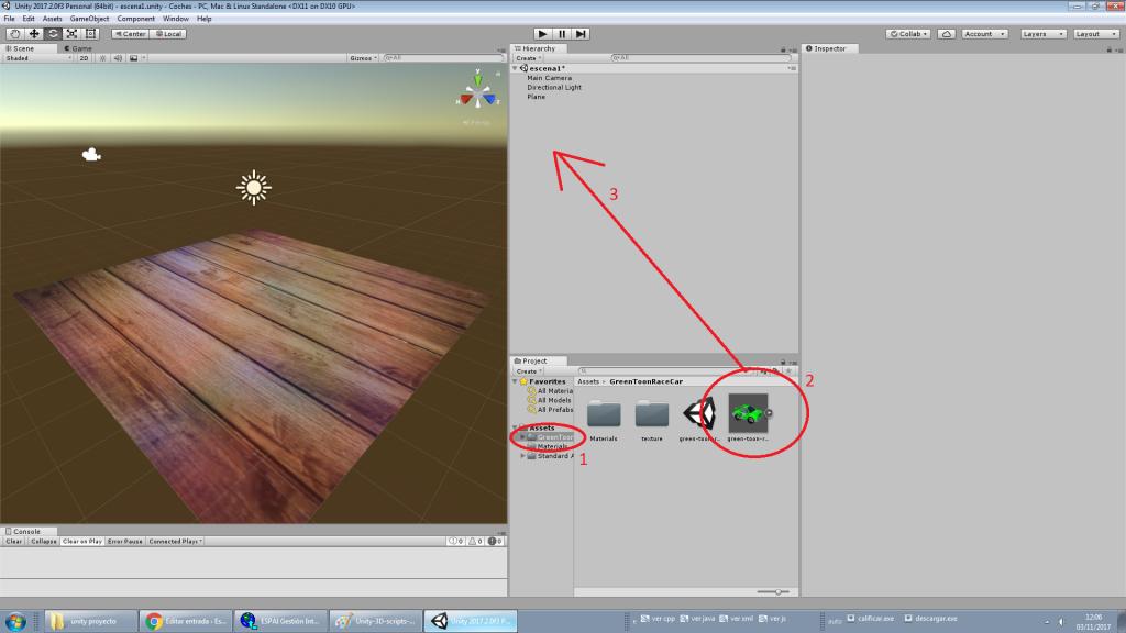 Unity 3d Añadir Texturas A Nuestros Objetos Blog Escola Espai