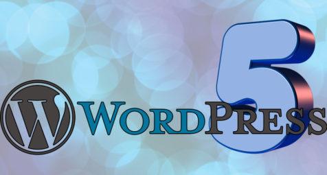 Novedades de Wordpress 5