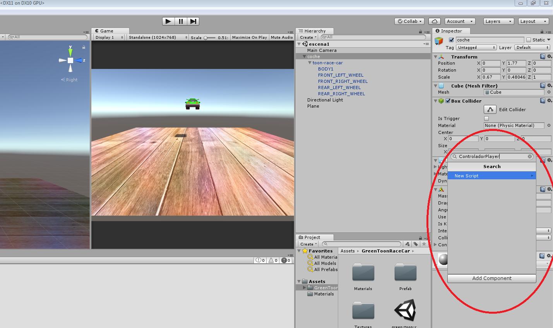 Unity 3D: Controlar nuestro personaje con el teclado