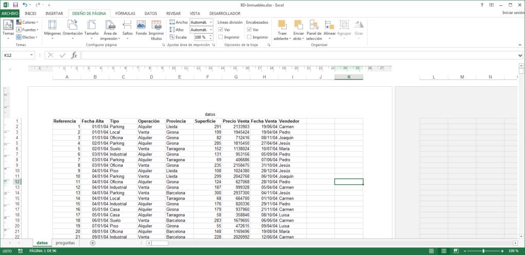 Cómo imprimir un libro Excel