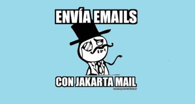 Enviar emails desde Java con Jakarta Mail