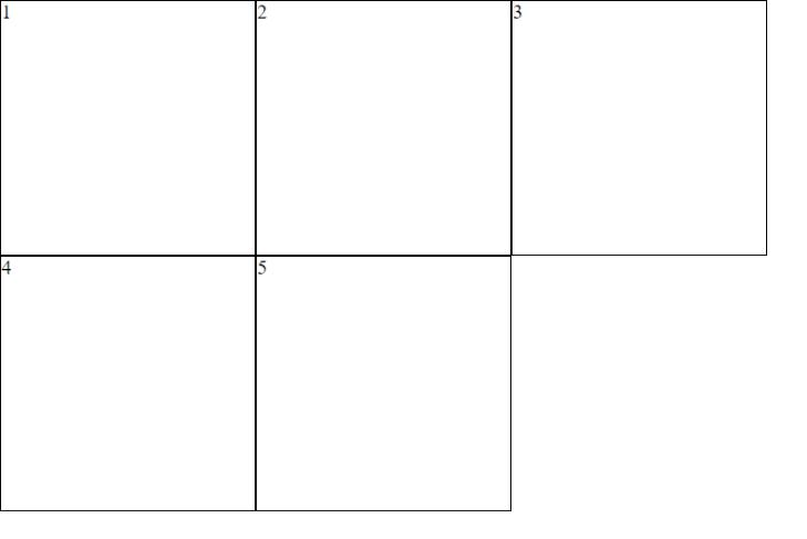 Ejemplo de CSS Grid Layout #1