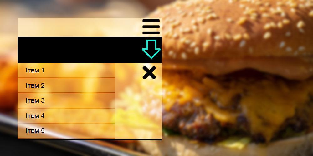 menu responsive con html y css