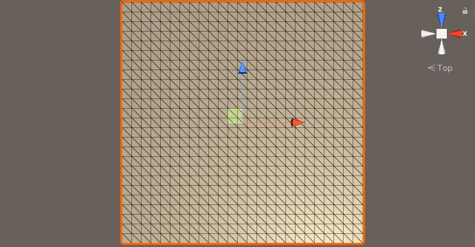 Rejilla terreno procedural en Unity