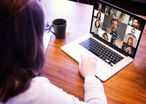 Video Conference Call - Online Meeting - Videoconference - Business Meeting