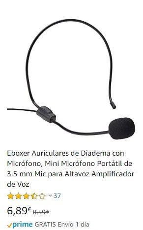 Micrófono de diadema