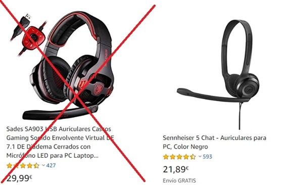 Auriculares Sennheiser USB AQUI