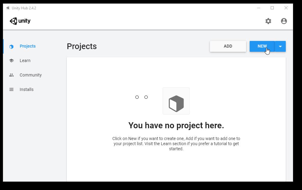 creando el proyecto